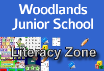 woodlands jr literacy logo