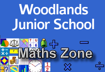 woodlands jr maths logo